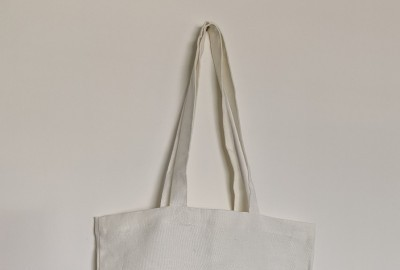 100% LINEN TOTE BAGS WITH GUSSET